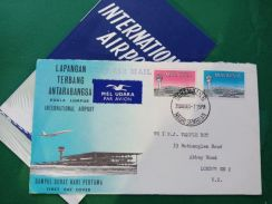 FDC Airport Subang 1965 B351