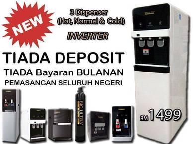 BioULTRA Penapis Air Water Filter Dispenser 3FPxNe