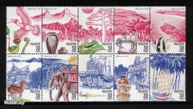 Mint Stamp Millennium Malaysia 1999