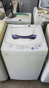 7kg Auto Mesin Washing Machine Top Toshiba Basuh