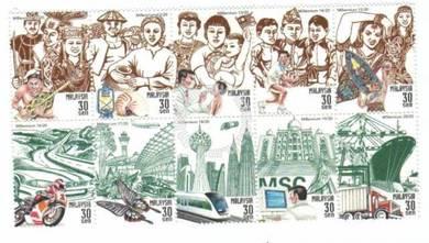 Mint Stamp Millennium Malaysia 2000
