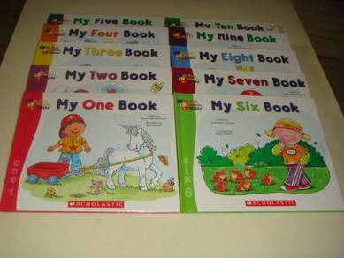 My First Maths Children Books by Scholastic
