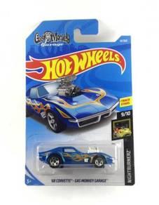 Hotwheels Corvette '68 - Gas Monkey Garage