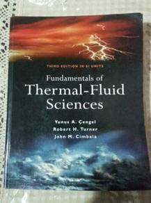 Thermal Fluid Sciences 3rd edition