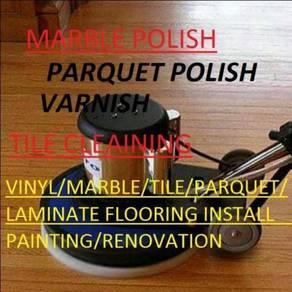 CLEAN Marble Polish Parquet Painting Ruma