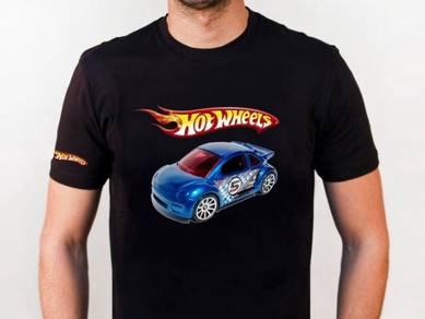 Tshirt Baju HOT WHEELS HW12 TSV Siap Pos Laju
