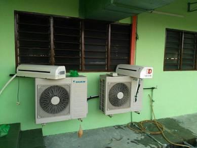 Installation aircond