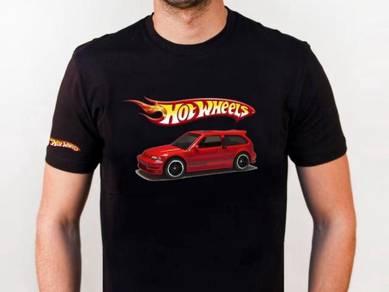 Tshirt Baju HOT WHEELS HW7 TSV Siap Pos Laju