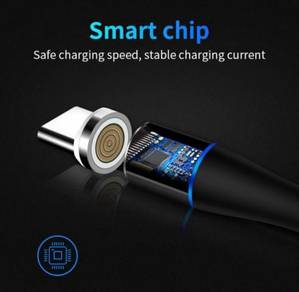 New technology 3A 7 contact design magnetic cable