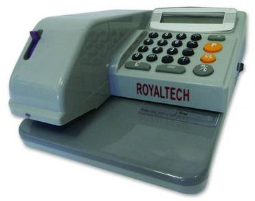 ROYALTECH Cheque Writer, Note and Coin Counting
