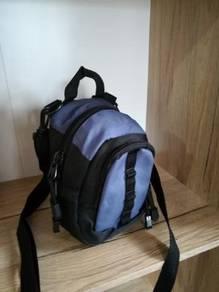 Sling bag purple black
