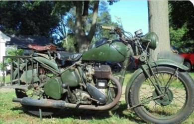 BSA M20 500cc 1940s World War norton triumph honda