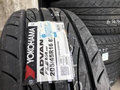 Tayar Baru 205 45 16 Yokohama advan 2020 new tyre
