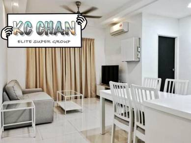 [MOST BEAUTIFUL] Tri Pinnacle FULLY FURNISHED RENO 2CP Tanjung Tokong