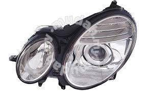 Benz w211 projector head lamp chrome