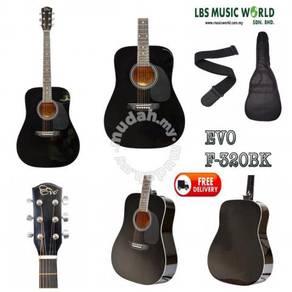 EVO Acoustic GUITAR F-320BK