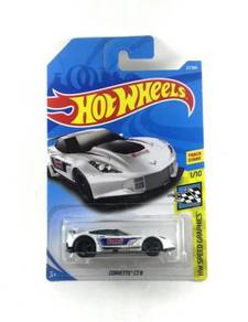Hotwheels Corvette C7.R #1 Summit White