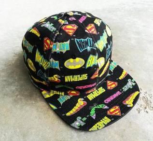 DC COMIC superhero cap topi kueii