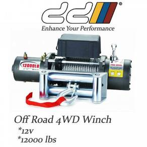Dd 12000lbs 12v electric winch wireless 4WD 4X4