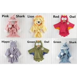 Baby cartoon bath towel / bathrobes 12