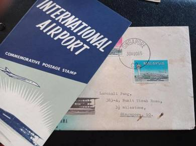 FDC Subang Airport 1965 No 216