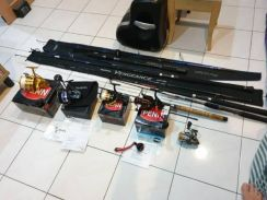 Fishing reel and rod for sale