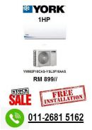 New york 1hp air conditioner clearance stock pro