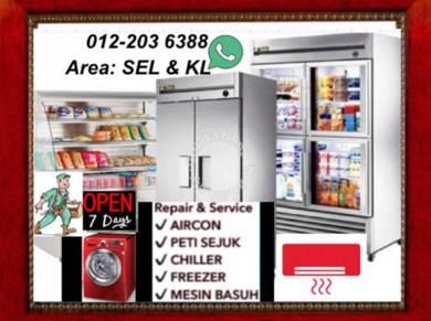 Peti Ais Sejuk Fridge Freezer SEL & KL pa1