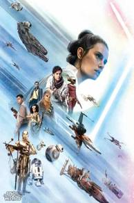 Poster STAR WARS THE RISE OF SKYWALKER SAIZ A 1