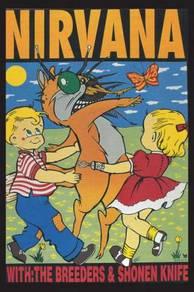 Poster NIrvana album cover SAIZ A 1