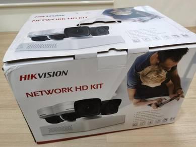 Hikvision 4 CH NVR 2MP Network IP CCTV Camera
