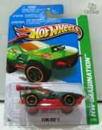 Hotwheels 2013 Hidden TH Sting Rod II No.51 Green