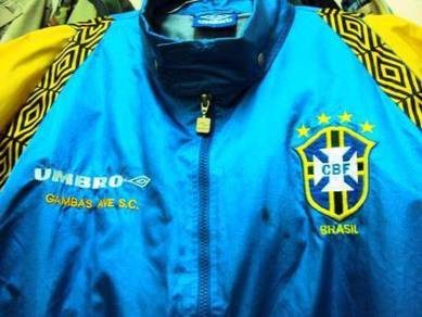 UMBRO Brazil Football Team Training Jacket