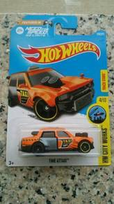 HotWheels Time Attaxi Need For Speed Orange