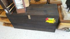 Aipj Reclaimed pallet wood bench chest drawer