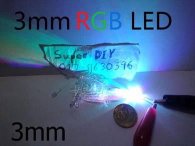 3mm RGB LED Bulb Light Emitting Diode Lamp brights