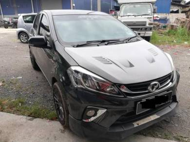 Perodua Myvi 2017 Sixth Sense Front Bonnet Fiber