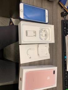 Apple iphone 7plus 128GB sealed in box myset ori