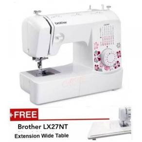 Lx 27nt Brother - Free Extension Table & Benang