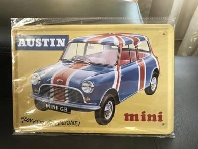 Mini Austin Metal Plate