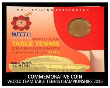 Syiling Peringatan - Kejohanan Tenis Piala Dunia
