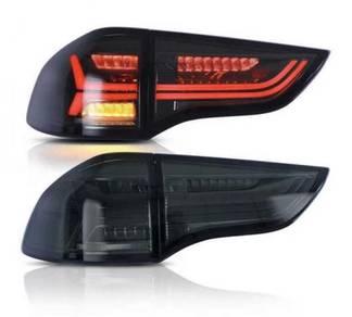 Mitsubishi pajero sport 08 15 led tail lamp light
