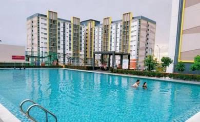 Seri Pinang Apartment Setia Alam 850sf 100% Full Loan