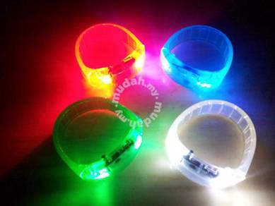 Sound Activated Disco LED Bracelet