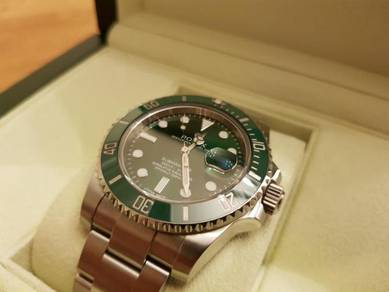 Rolex Submariner Date 116610LV Green