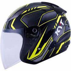 KYT Hellcat Open Face Helmet W/Single Visor