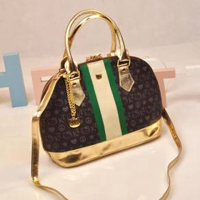 Hello Kitty Brown handbag slingbag bag HB207