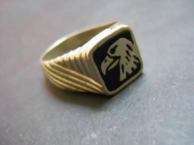 R031 Vintage eagle ring