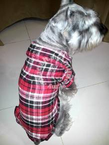 Pet Cotton Short Sleeve Shirt