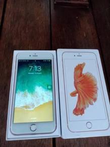 Iphone 6s plus 64gb rose gold set LL
